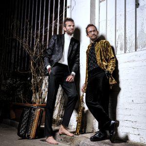 Emile Parisien, saxophone Vincent Peirani, accordéon